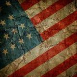 Bandera de los E.E.U.U. Fotografía de archivo libre de regalías