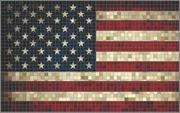 Bandera de los E.E.U.U. foto de archivo libre de regalías