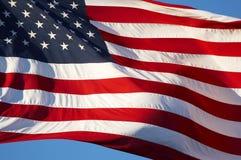Bandera de los E.E.U.U. Imagenes de archivo