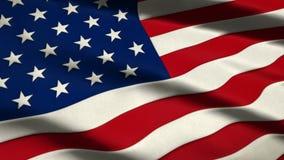 Bandera de los Estados Unidos de América libre illustration