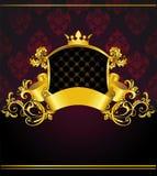 Bandera de lujo de la vendimia Imagen de archivo libre de regalías