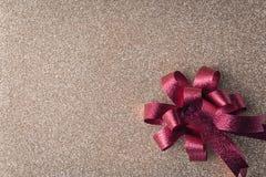 Bandera de madera del fondo de la Navidad y del Año Nuevo Imagenes de archivo