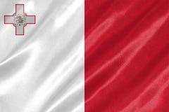 Bandera de Malta imagen de archivo libre de regalías
