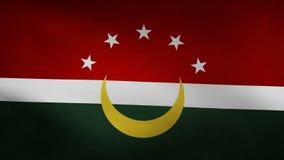 Bandera de país de Maghreb stock de ilustración