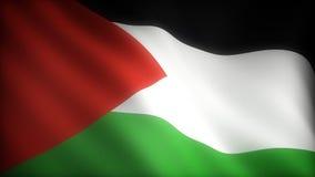 Bandera de Palestina stock de ilustración