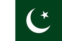 Bandera de Paquistán Fotos de archivo