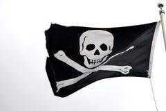 Bandera de pirata imagen de archivo libre de regalías