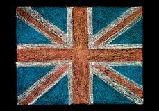 Bandera de Reino Unido (Union Jack británico) Fotografía de archivo