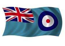 Bandera de Royal Air Force Imágenes de archivo libres de regalías