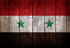 Bandera de Siria Imagen de archivo