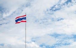 Bandera de Tailandia Imagen de archivo libre de regalías