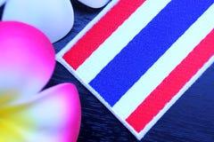Bandera de Tailandia Fotos de archivo libres de regalías