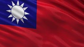 Bandera de Taiwán - lazo inconsútil ilustración del vector