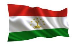 Bandera de Tayikistán Una serie de banderas del ` del mundo ` El país - bandera de Tayikistán ilustración del vector