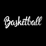 Bandera de Team Game Sport Competition Black del baloncesto Foto de archivo