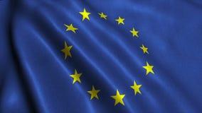 Bandera de unión europea de E. - de alta calidad