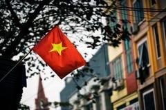 Bandera de Vietnam fotografía de archivo