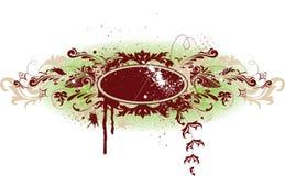 Bandera decorativa del grunge del vector Imagen de archivo libre de regalías