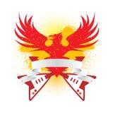 Bandera del águila Imagen de archivo