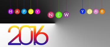 Bandera del Año Nuevo Imagen de archivo