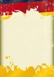 Bandera del alemán del Grunge Fotos de archivo libres de regalías