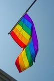 Bandera del arco iris Fotografía de archivo