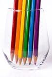 Bandera del arco iris de LGBT Fotografía de archivo libre de regalías