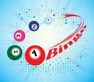 Bandera del bingo Fotos de archivo libres de regalías