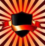 Bandera del blindaje Fotografía de archivo