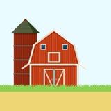 Bandera del campo de granja Foto de archivo