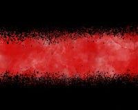 Bandera del chapoteo Fotografía de archivo libre de regalías