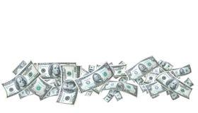Bandera del dinero foto de archivo libre de regalías