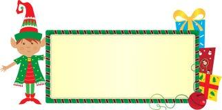 Bandera del duende Imagen de archivo libre de regalías