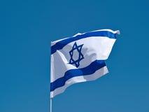 Bandera del estado de Israel Imagen de archivo libre de regalías