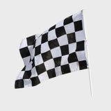 Bandera del final Imagenes de archivo