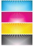 Bandera del fondo Imagenes de archivo