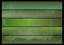 Bandera del fondo de Grunge ilustración del vector