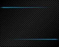 Bandera del fondo de la textura de Rich Carbon libre illustration