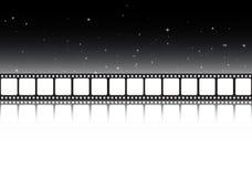 Bandera del fondo de la tira de la película
