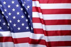 Bandera del fondo de los Estados Unidos de América para la celebración federal nacional de los días de fiesta y el día de luto de fotos de archivo