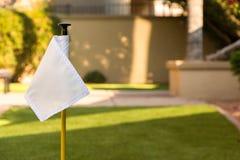 Bandera del golf Imagen de archivo libre de regalías
