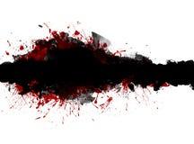 Bandera del Grunge. stock de ilustración