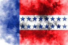 Bandera del grunge del archipiélago de Tuamotu, grupos de islas en político francés libre illustration