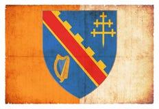 Bandera del Grunge de Armagh Irlanda Foto de archivo