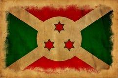 Bandera del grunge de Burundi libre illustration