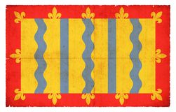 Bandera del Grunge de Cambridgeshire Gran Bretaña Foto de archivo libre de regalías