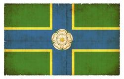 Bandera del Grunge de Gran Bretaña que monta del este Imagen de archivo libre de regalías