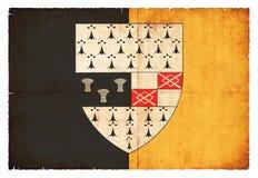 Bandera del Grunge de Kilkenny Irlanda Fotos de archivo