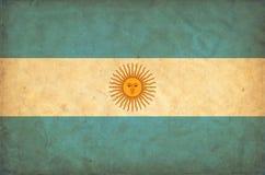 Bandera del grunge de la Argentina libre illustration