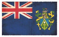 Bandera del Grunge de las islas de Pitcairn Gran Bretaña Fotografía de archivo libre de regalías
